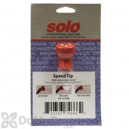 Solo Speed Tip Nozzle - 4074666P
