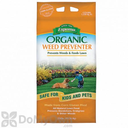 Espoma Organic Weed Preventer Lawn Food 9-0-0
