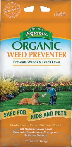 Espoma Organic Weed Preventer Lawn Food