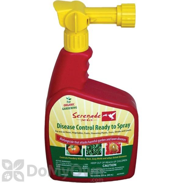 Serenade Garden Disease Control Ready to Spray