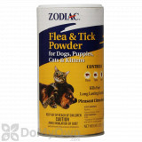 Zodiac Flea and Tick Powder for Dogs, Puppies, Cats, and Kittens