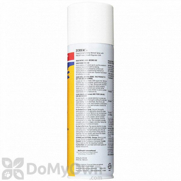 Carpet and Upholstery Aerosol Spray