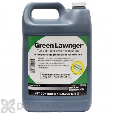 Green Lawnger Turf Paint Gallon