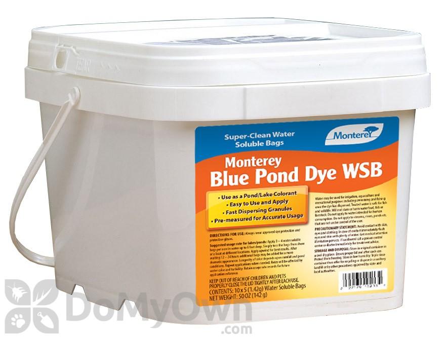 Monterey blue pond dye wsb 50 oz for Blue pond dye