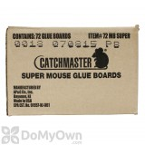 CatchMaster Super Mouse Glue Boards 72 MB (Peanut Butter)