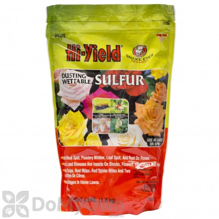 Hi-Yield Dusting Wettable Sulfur