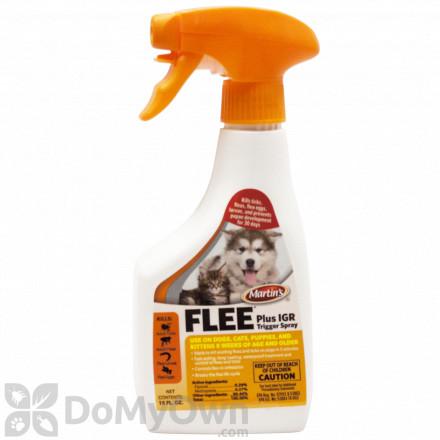 Martin's Flee Plus IGR Trigger Spray 16 oz.