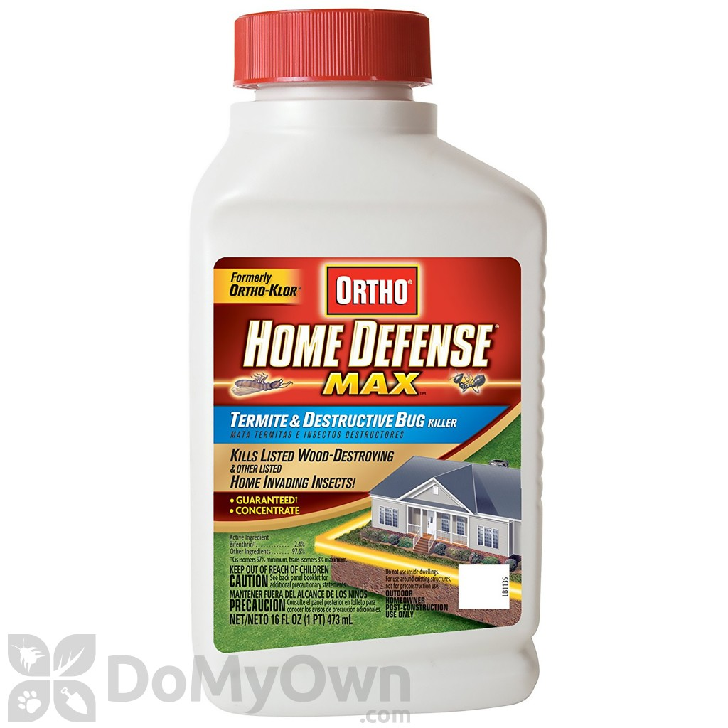 Ortho Home Defense Max Termite Destructive Bug Concentrate Trenching