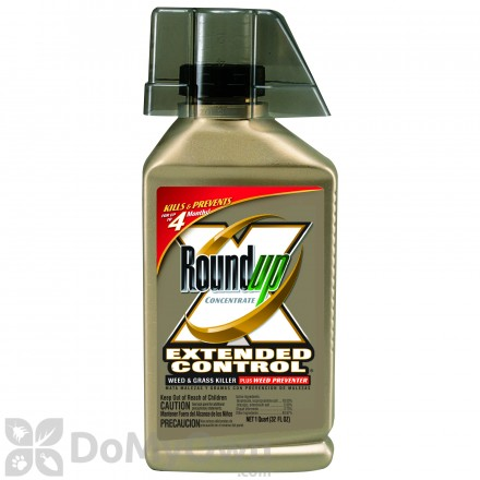 Roundup Concentrate Extended Control Weed & Grass Killer Plus Weed Preventer