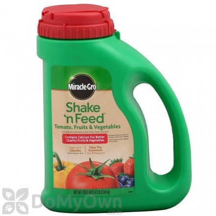 Miracle-Gro Shake n Feed Tomato, Fruits and Vegetables Plant Food Plus Calcium