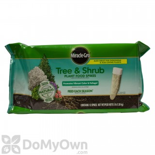 Quick View Miracle Gro Tree And Shrub Fertilizer Spikes