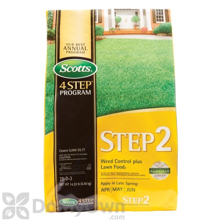 Scotts Step 2 Weed Control Plus Lawn Food