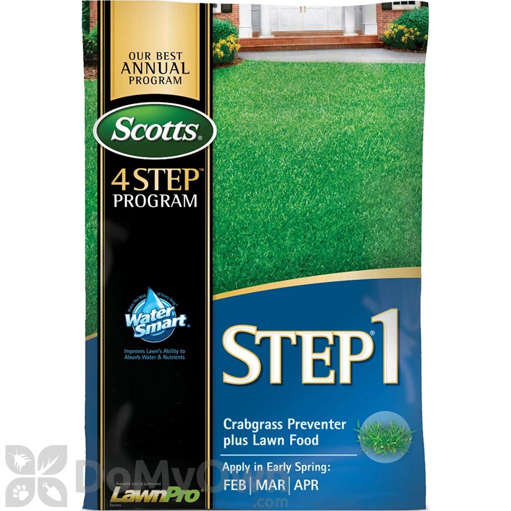 Scotts STEP 1 Crabgrass Preventer Plus Lawn Food