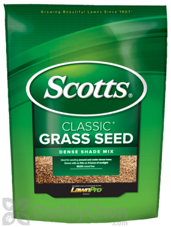 Scotts Classic Grass Seed Dense Shade Mix