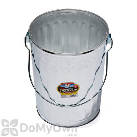 Little Giant Galvanized Trash Can