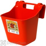 Little Giant Plastic Hook Over Feeder 12 qt. Red