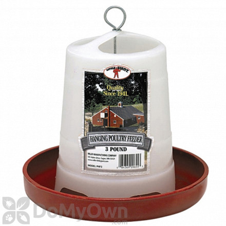 Little Giant Plastic Hanging Poultry Feeder
