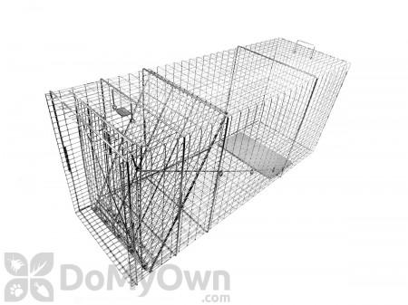 Tomahawk Original Series Model 110B Rigid Live Trap 1 Trap Door (Medium-size Dog)