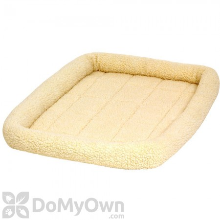Pet Lodge Fleece Pet Bed Cream