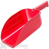 Little Giant Plastic Utility Scoop Red