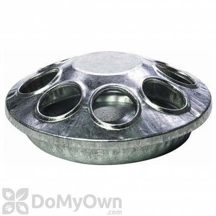Little Giant Round Metal Chick Feeder 6 in.