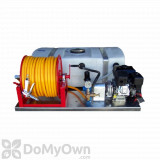 Precision 50 Gallon Low Profile Skid Sprayer - 3/8 inch x 300 feet hose
