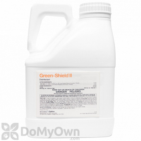Green-Shield II Disinfectant and Algicide