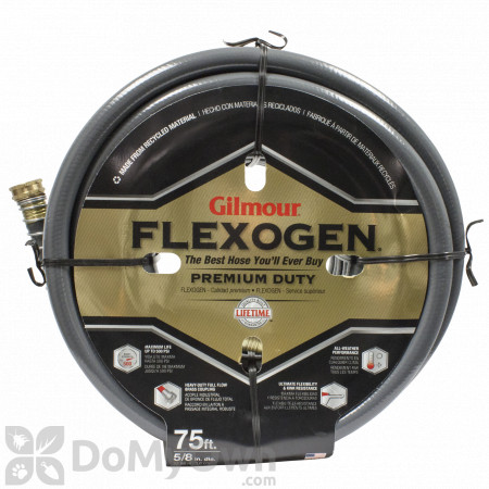 Gilmour Flexogen Premium Garden Hose 5/8\'\' x 75\'