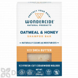 Wondercide Oatmeal and Honey Shampoo Bar