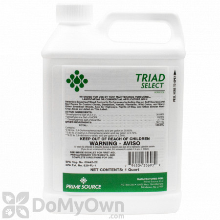 Triad Select Herbicide