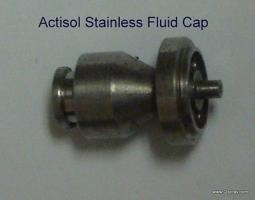 Actisol Replacement Part - Stainless Fluid Cap #30005