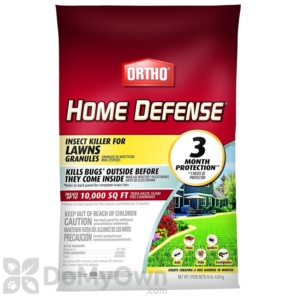 Ortho Home Defense Insect Killer For Lawns Granules