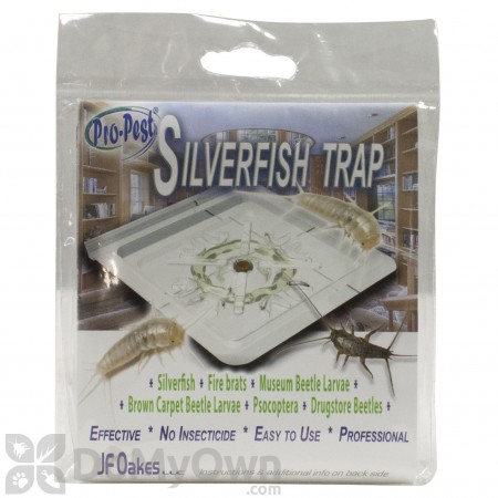 Pro Pest Silverfish Monitor and Trap