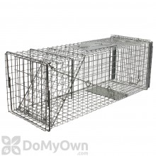 Tomahawk Deluxe Cat Rabbit Animal Trap Rear Sliding Door Model 606