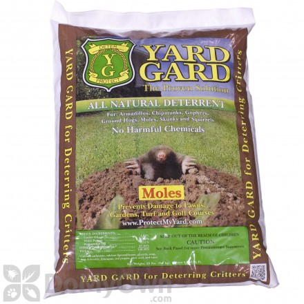 Yard Gard Mole Repellent 20 lb bag