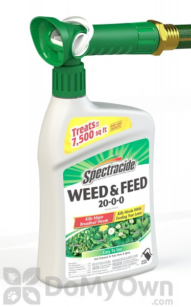 Spectracide Weed And Feed 20 0 0 Ready To Spray