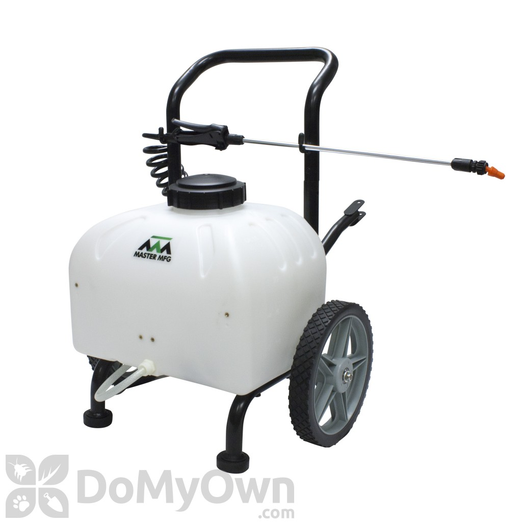 Master Mfg Gardener Cart Sprayer 9 Gal
