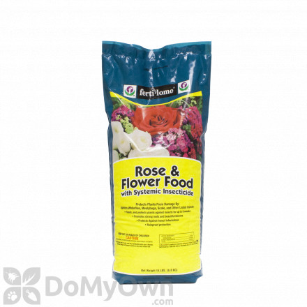 Ferti-lome Rose & Flower Food with Systemic Insecticide 15 lbs.