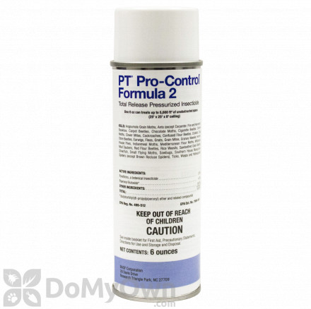 PT Pro-Control Formula 2 Total Release Pressurized Insecticide
