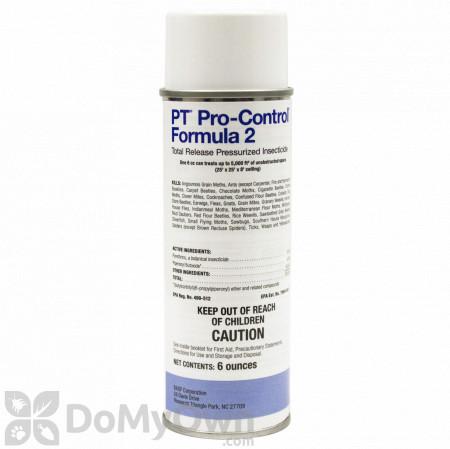 PT Pro-Control Formula 2 Total Release Pressurized Insecticide