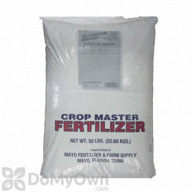 Crop Master Fertilizer 0 - 0 - 60