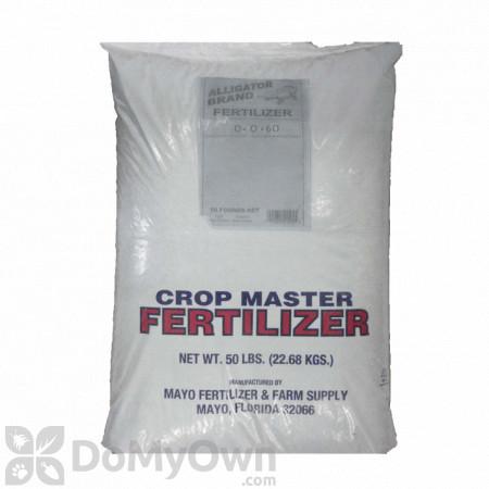 Crop Master Fertilizer 0 - 0 - 60