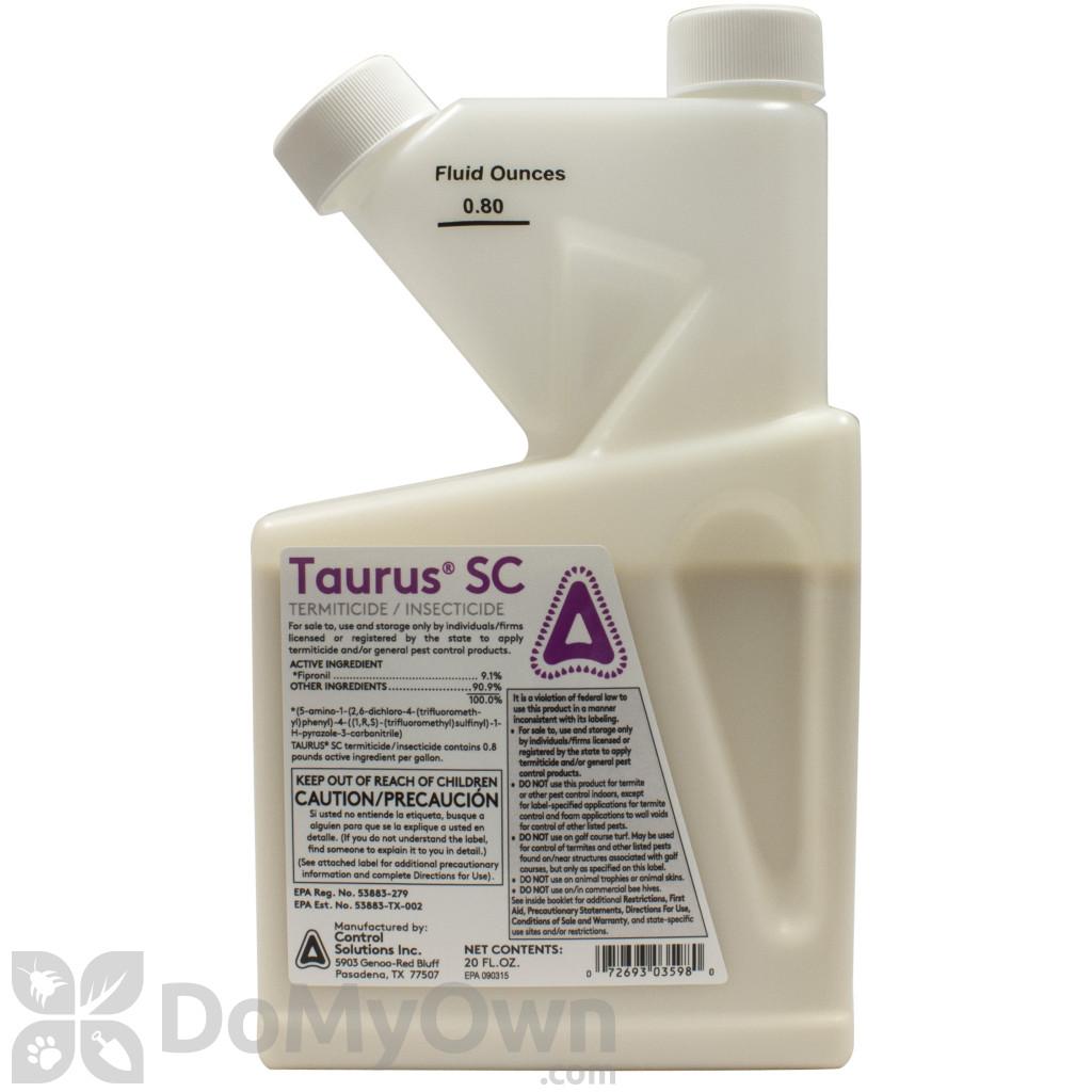 Taurus sc taurus insecticide termiticide free shipping taurus sc termiticide solutioingenieria Choice Image