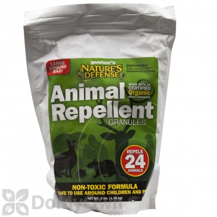 Nature's Defense Organic Animal Repellent Granules