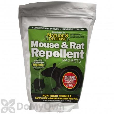 Nature's Defense Mouse & Rat Repellent Packets - (12 x 4 oz)