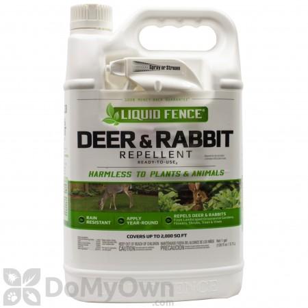 Liquid Fence Deer Rabbit Repellent RTU