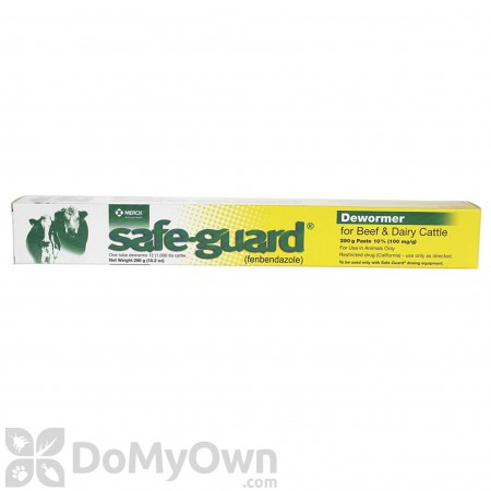 Safe - Guard Cattle Dewormer Paste