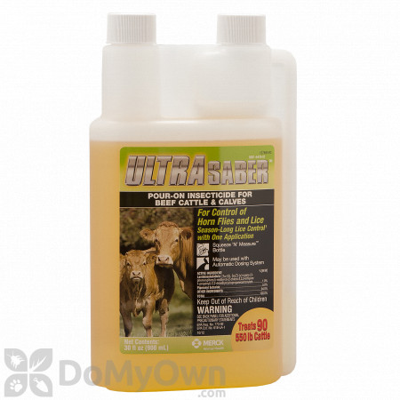Ultra Saber Pour-On Insecticide
