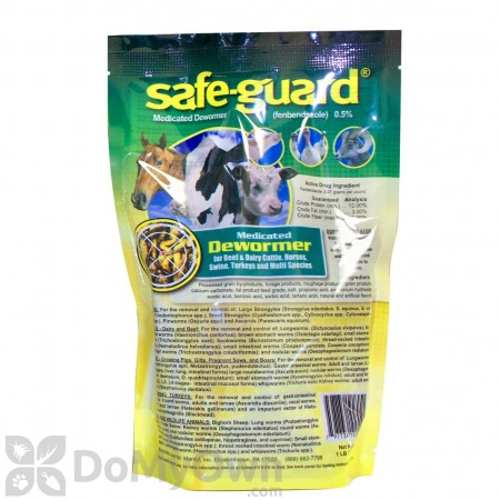 Safe-Guard Multi-Species .5% Pellets