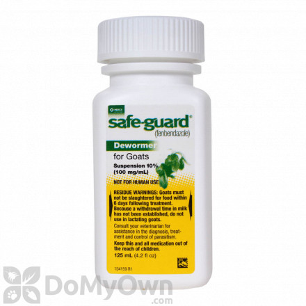 Safe-Guard Dewormer for Goats 125 ml